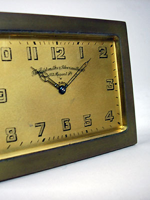 art deco clock sales in perth