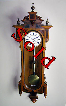 austrian regulator clock