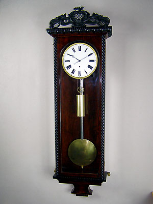 biedermeier regulator clock