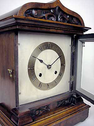 edwardian bracket clock for sale