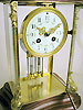 four glass clock for sale