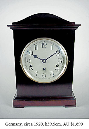 german chiming clock