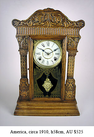 william gilbert mantel clock