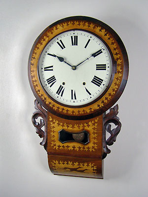 american chauncey jerome dial clock