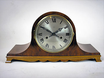 napolean hat mantel clock
