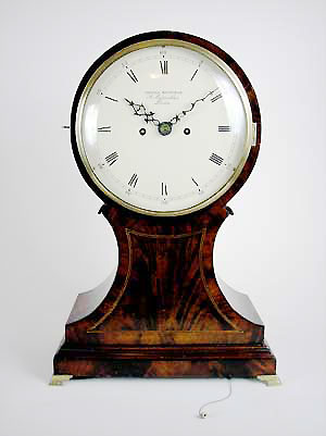 regency balloon bracket clock