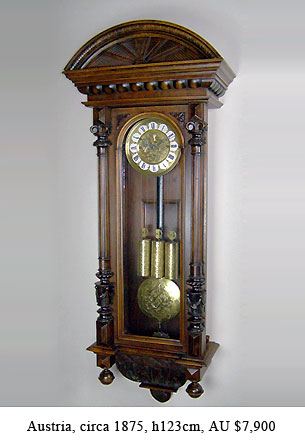resch regulator wall clock