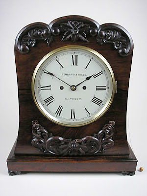 scottish fusee bracket clock