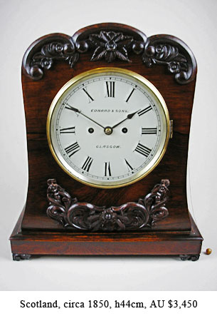 scottish bracket clock