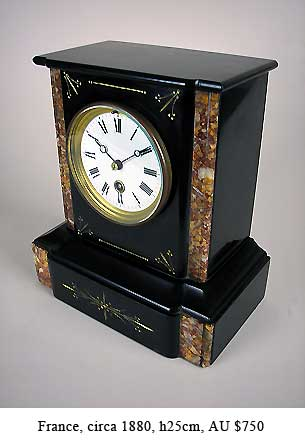small french mantel clock