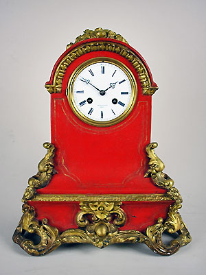 antique french table clock
