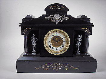 usa mantel clock