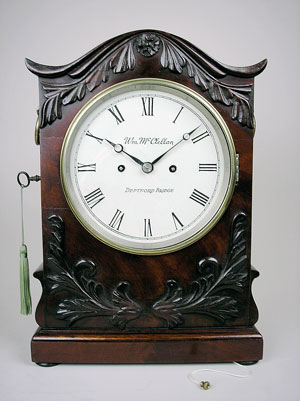 william iv bracket clock
